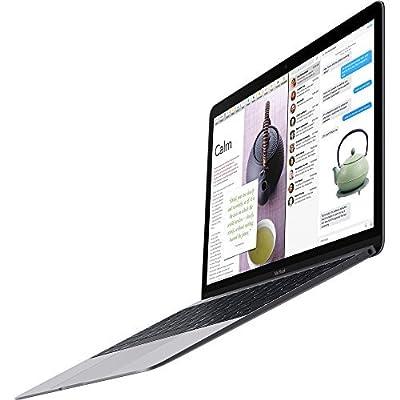 "Apple Macbook Retina Display 12"" Laptop (2015) - 256GB SSD, 8 GB Memory, Space Gray (Custom-Built, Brown-box Packaging)"