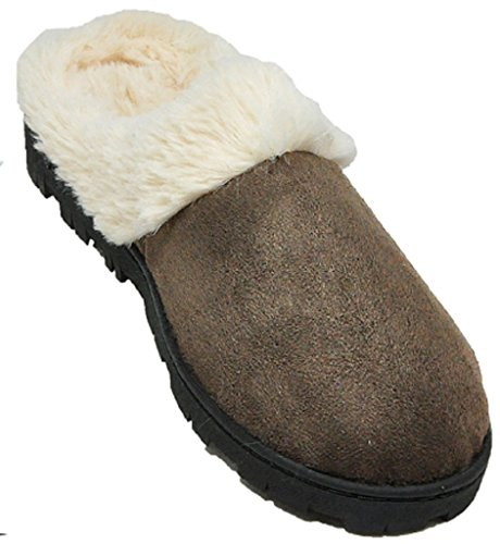 Shoes8teen Skor 18 Kvinnor Inomhus / Utomhus Faux Shearling Tofflor Bruna 1411