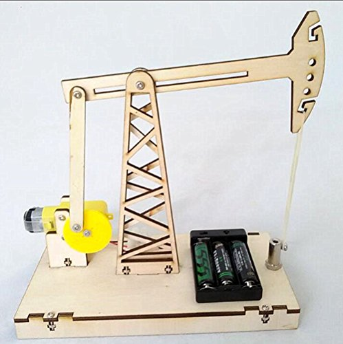 DIY Educational Pumping Unit Robot Innovation Training Kit Building Blocks Puzzle