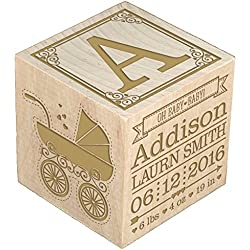 Personalized Nursery Wooden Blocks Let S Personalize That