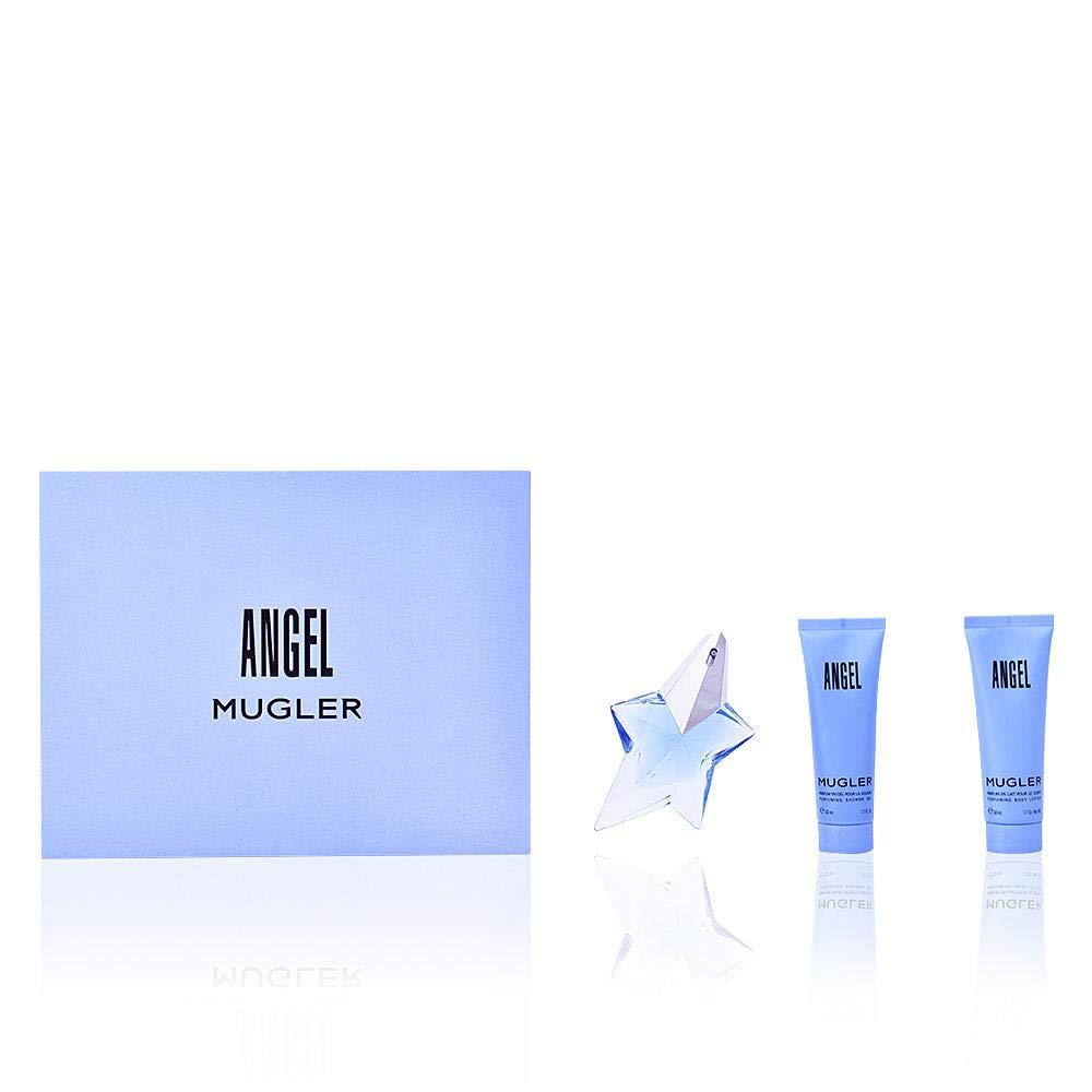 Mugler Angel Set Eau De Parfum 25Ml + B/L + S/G - Pacco da 3 x 41.67 ml - Totale: 125 ml 19622