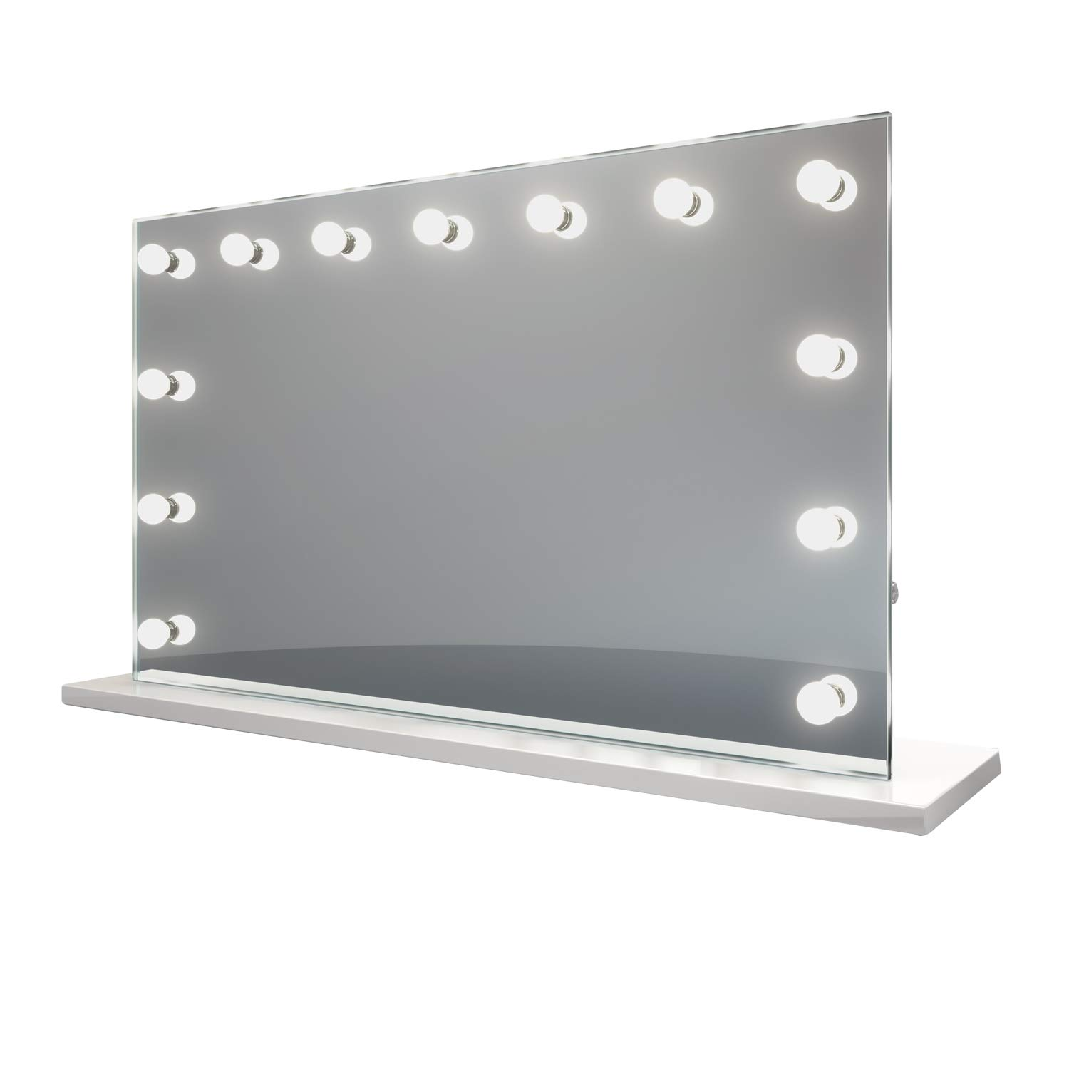 Diamond X Hollywood Makeup Vanity Mirror with Warm White Dimmable LED k91sWW by DIAMOND X COLLECTION