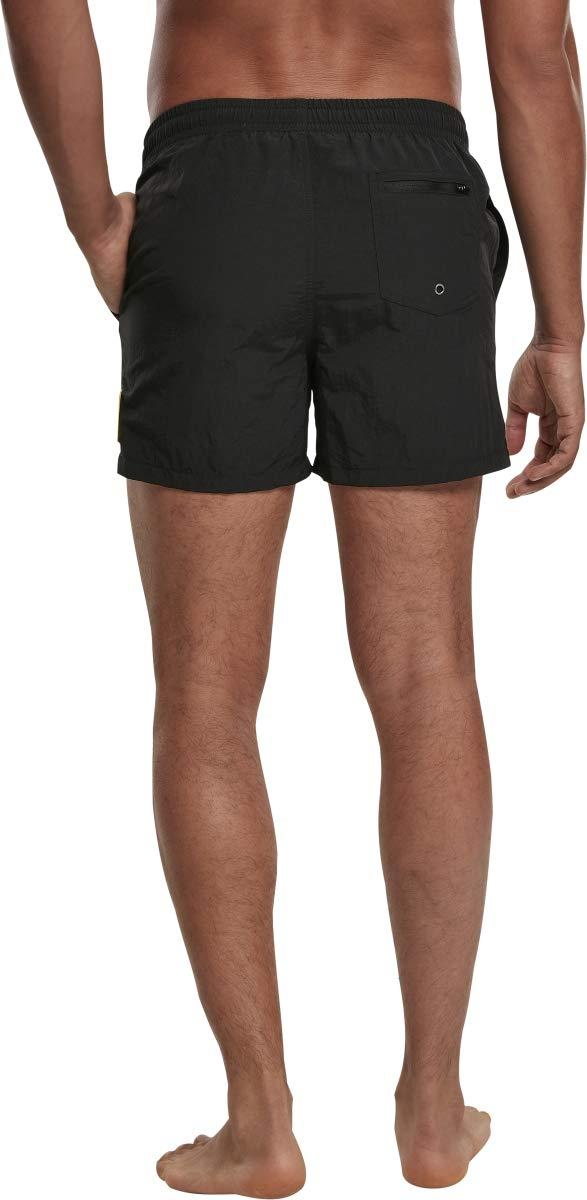 Mister Tee NASA Worm Logo Swim Shorts