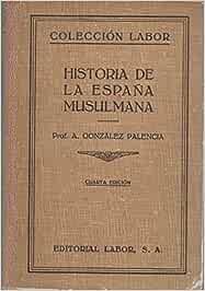HISTORIA DE LA ESPAÑA MUSULMANA: Amazon.es: GONZALEZ PALENCIA, Angel: Libros