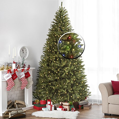 Pre Lit Christmas Tree Led Colored Lights