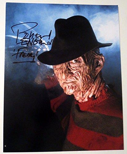 Robert Englund Freddy Krueger REAL hand SIGNED 11x14 Photo #2 EXACT PROOF Elm St Hand Signed 11x14 Photo