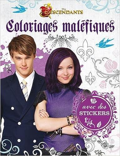 En ligne téléchargement Coloriages maléfiques Descendants : Avec des stickers pdf
