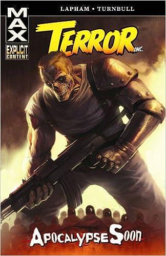 Terror Inc Apocalypse Soon David Lapham Koi Turnbull 9780785131854 Amazon Books