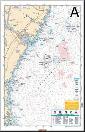 Amazon.com: Resistente al agua Cartas, Pesca de bajura, 100 ...
