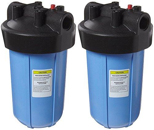 Pentek 150237#10 Big Blue Filter Housing, 1'' Female NPT Inlet/Outlet (Pack of 2) by Pentek