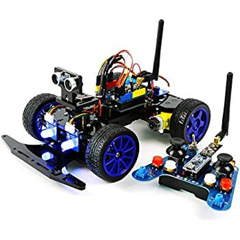 Amazon adeept smart car kit for arduino remote control car adeept smart car kit for arduino remote control car based on nrf24l01 24g wireless solutioingenieria Images