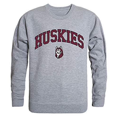 (Bloomsburg Huskies NCAA Men's Campus Crewneck Fleece Sweatshirt - Heather Grey,)