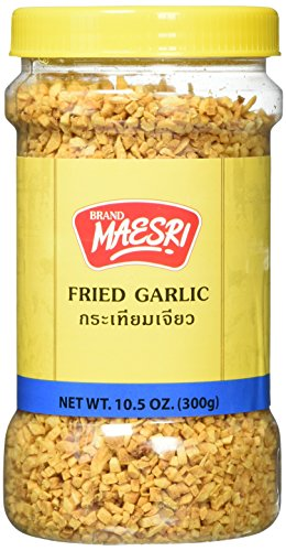 Maesri Fried Garlic, 10.5 Ounce by Maesri