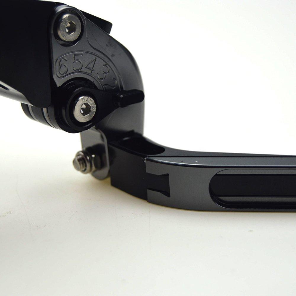 Nueva motocicleta CNC plegable y ampliaci/ón de freno palanca de embrague para Yamaha Tmax 530/TMAX530/t-max530/TMAX 530/2008/ /2016/oro