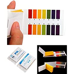 160 Tester Good Popular pH Test Strips Practical Sensitive Evaluate Urine and Saliva with Color Chart