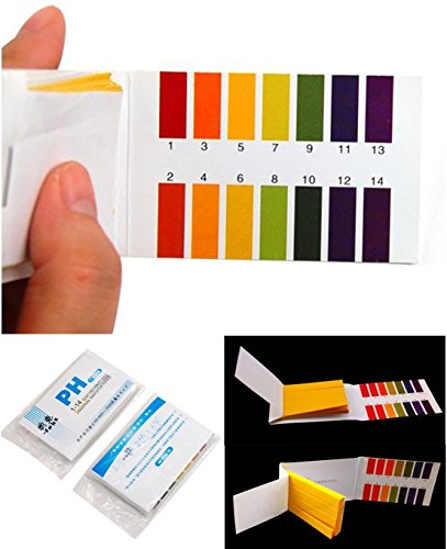 160 Tester Good Popular pH Test Strips Practical Sensitive Evaluate Urine and Saliva with Color (Nitrate Test Refill)