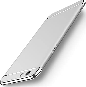 separation shoes 11423 b90c9 CROMBIE for One Plus 5 Back Covers, Silver with Gold: Amazon.in ...