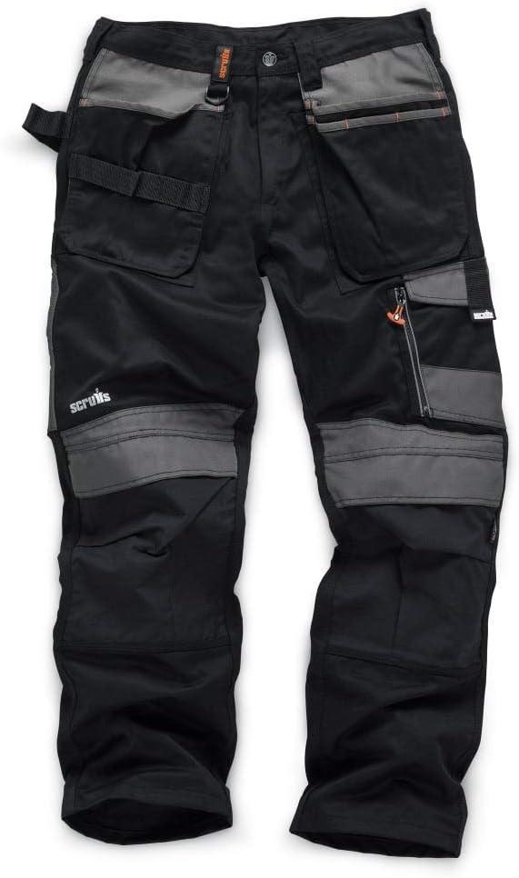 Scruffs T51980 T51980 Pantal/ón largo de comercio 3D negro