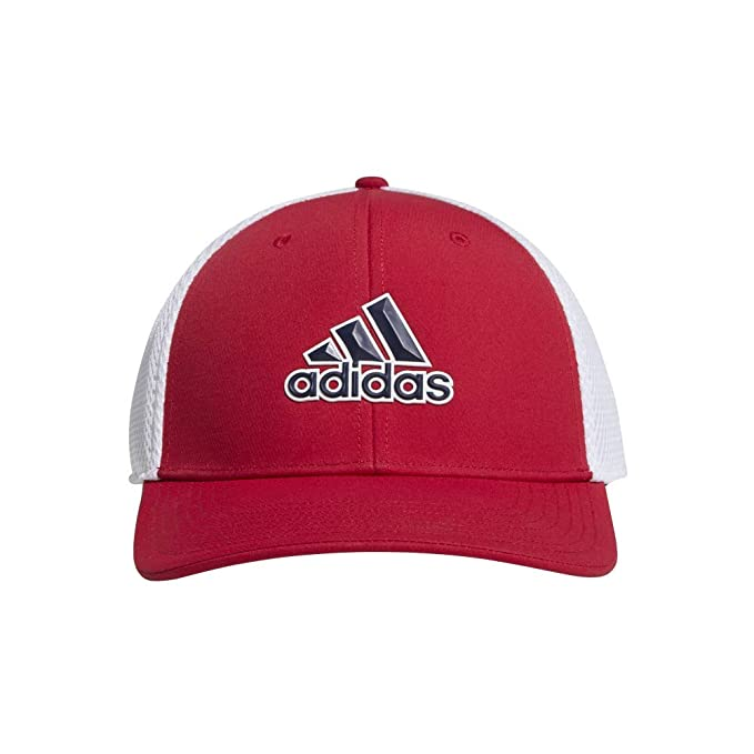 adidas Gorras A-Stretch Tour Red/White Flexfit: Amazon.es: Ropa y accesorios