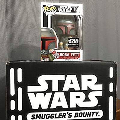 Funko POP Star Wars: Boba Fett Action Figure Exclusive Smuggler's Bounty: Toys & Games
