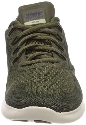 Nike Free RN 2017, Scarpe Running Donna Verde (Cargo Khaki/Black-sequoia-neutral Olive 301)