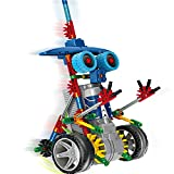 robotic knight - Alien Toys for Kids / Robotic Building Set / Battery Powered Robotic Kits / 3d Puzzles for Kids , 122 Parts(knight)