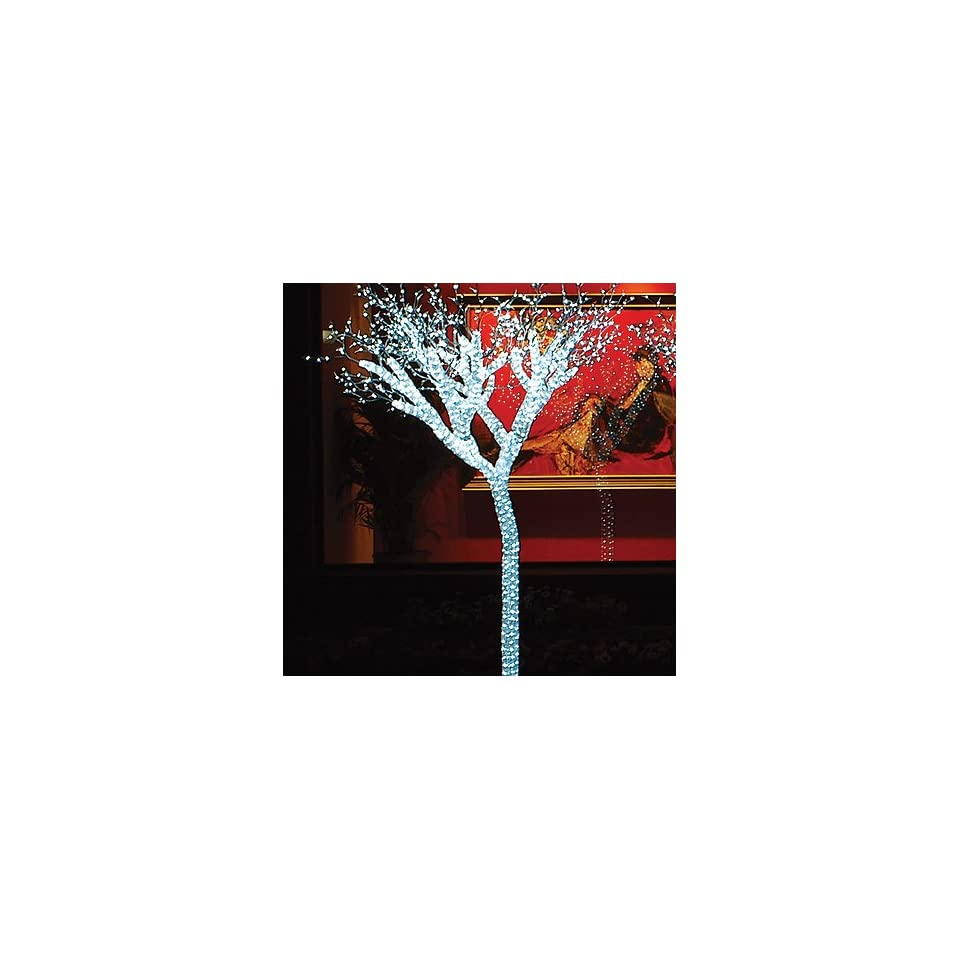 Giant Lighted LED Commercial Grade Ice Tree Christmas Decoration Display 8