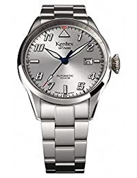 Kentex SKYMAN pilot Men's Automatic Silver Dial Watch S688X-12