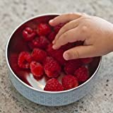 Kangovou Stainless Steel Snack Bowl (Frosted Blueberry)