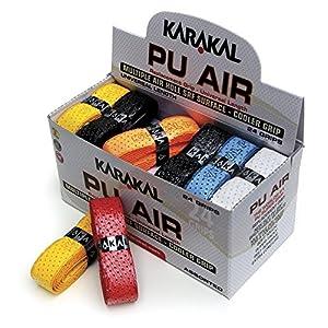 Karakal PU Super Air Box 24 Squash Grip Assorted Colors