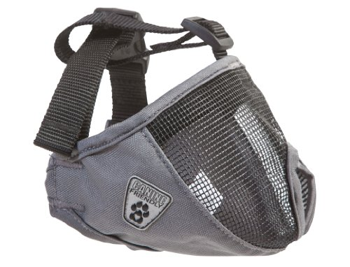 UPC 778810855683, Canine Friendly Short Snout Dog Muzzle, Small, Charcoal