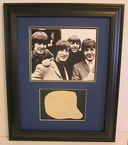Beatles cut signature Card