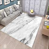Marble Customize Door mats for Home Mat Granite Surface Motif with Sketch Nature Effect and Cracks Antique Style Image Door Mat Outside Grey Dust White