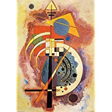Posters: Wassily Kandinsky Poster Art Print - Hommage A Grohmann (39 x 28 inches)