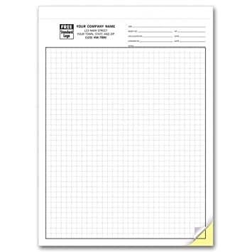 amazon com carbonless engineering graph paper 1 4 inch office