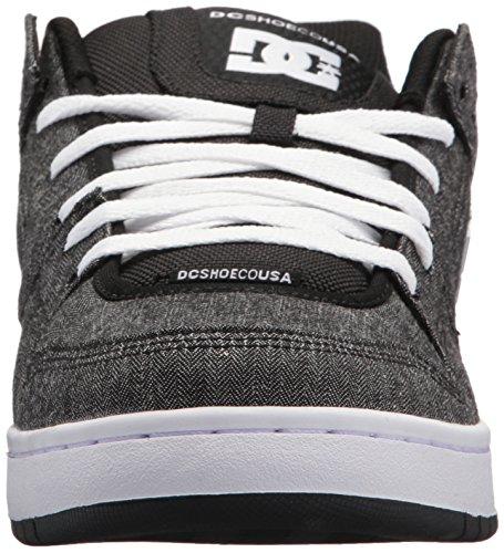 Homme Manteca Dc Pour Gris blanc noir Chaussures Lowtop Tx Se r55vcpYqF7