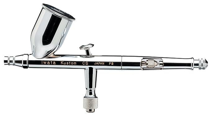 Iwata-Medea High Performance Kustom KCS Dual Action Airbrush Gun / Gravity  Feed
