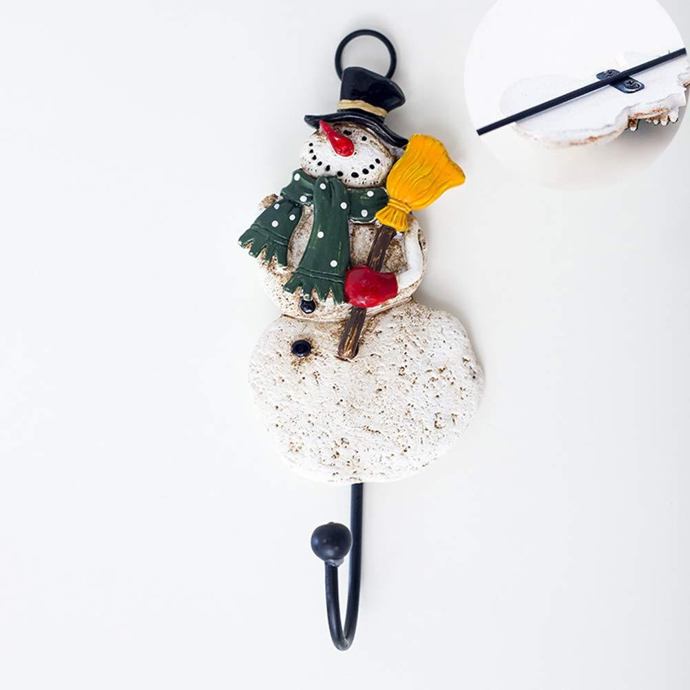 BESTOYARD Navidad Ganchos para baño Cocina toallero Puerta Toallas Colgantes decoración de Navidad: Amazon.es: Hogar