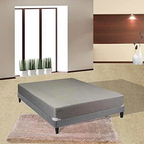 "Spinal Solution 8"" Assembled Box Spring for Mattress, Twin"
