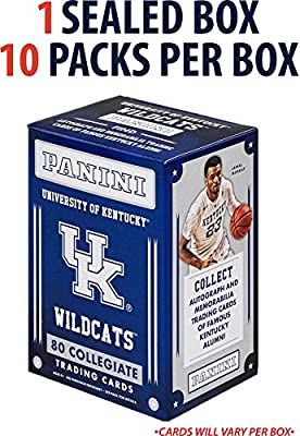 2015 Panini University Of Kentucky (10 Pack Box) - Fanatics Authentic Certified - College Team Sets