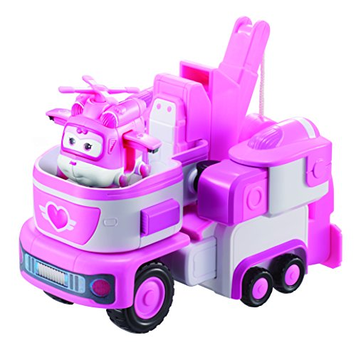 Super Wings   Transforming Vehicle Dizzy  For Use With 2  Figures