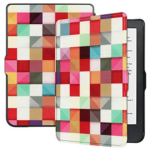 Kobo Clara HD Case - Ratesell Premium Folio Smart-Shell Stand Slim Lightweight Case Cover with Auto Sleep/Wake for Kobo Clara HD Tablet Cube