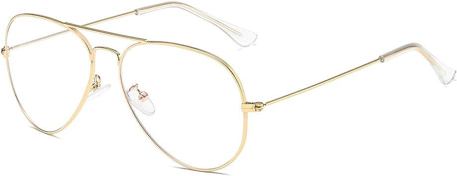 Blue Light Blocking Glasses Cat Eye Computer Game Glasses Anti Eyestrain Hipster Metal Frame Eyeglasses for Women
