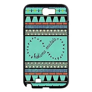 Hakuna Matata Hard Plastic Back Cover Case For Samsung Galaxy Note 2 Case TPUKO-Q780844