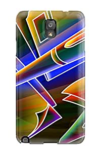New Style Premium Neon Back Cover Snap On Case For Galaxy Note 3