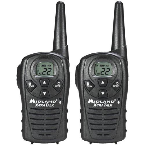 RADIO 2-WAY  2-PK by  RADIO MfrPartNo - Midland LXT118