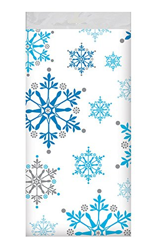 Creative Converting 317151 All Over Print Plastic Table cover, 54 x 102