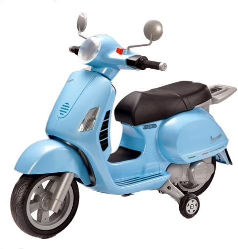 itsImagical - Vespa with Motor, vehículo eléctrico, Color Azul ...