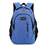 Cheap T086 Teimose 15.6inch Laptop Bag Business Case Classic Daypack Bookbag Travel Backpack School Bag Rucksack (blue)