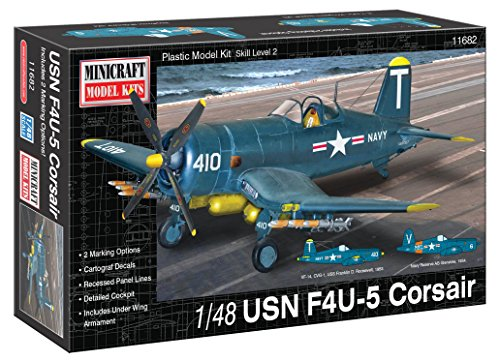 Minicraft Models 1:48 Scale USN F4U-5 Corsair Model Kit